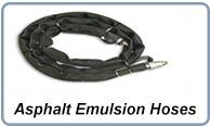 Asphalt emulsion hoses